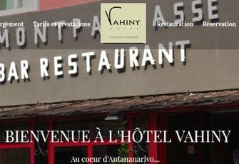 Vahiny Hôtels  Antananarivo – Table d'hôte Madagascar chambre le Meridian Hotels