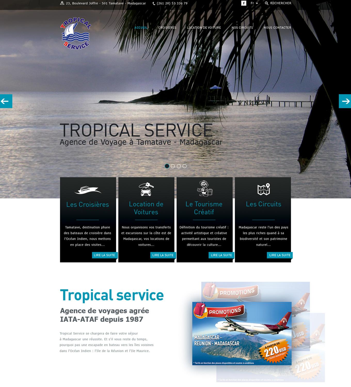 Croisière Madagascar - Agence de voyage Tropical Service tour operator