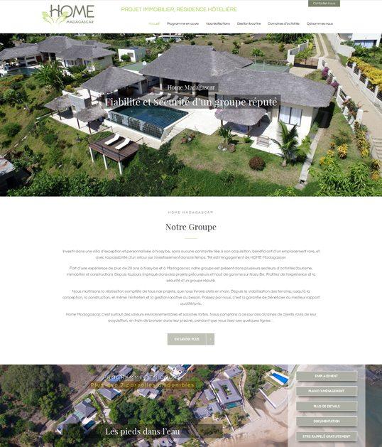 Home Madagascar – Projet immobilier, résidence hôtelière