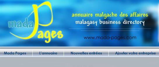 Pages jaunes Madagascar annuaire – Mada Pages – Annuaire professionnel du commerce et de l'industrie