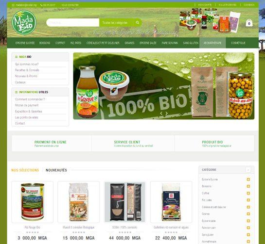MADABIO - Vente de produits alimentaires Bio