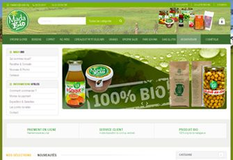 MADABIO – Vente de produits alimentaires Bio