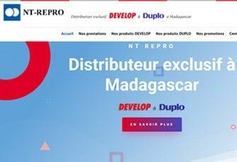 Photocopieur Madagascar NT Repro Develop importateur distributeur duplicopieur consommables