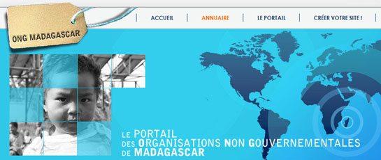 Portail pour les Ong à Madagascar