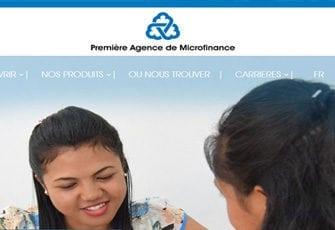 PAMF ou Première Agence de Microfinance – Institution de microfinance