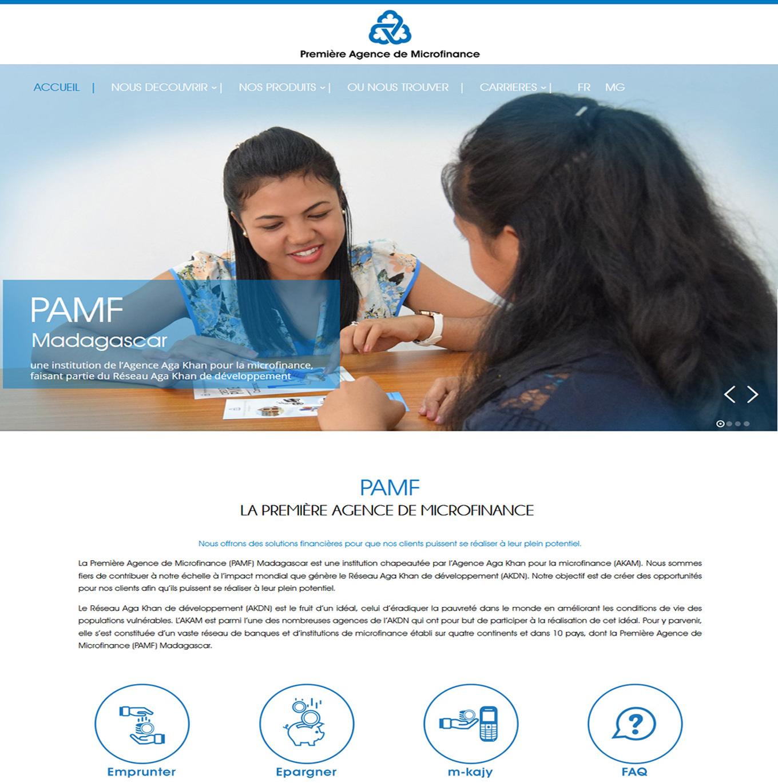 PAMF ou Première Agence de Microfinance