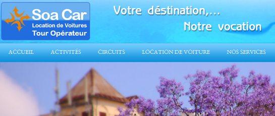 Soa Car tour operator et location de voiture à Madagascar