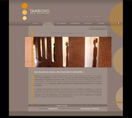 Hôtel restaurant Tamboho - hébergement pour voyages à Madagascar