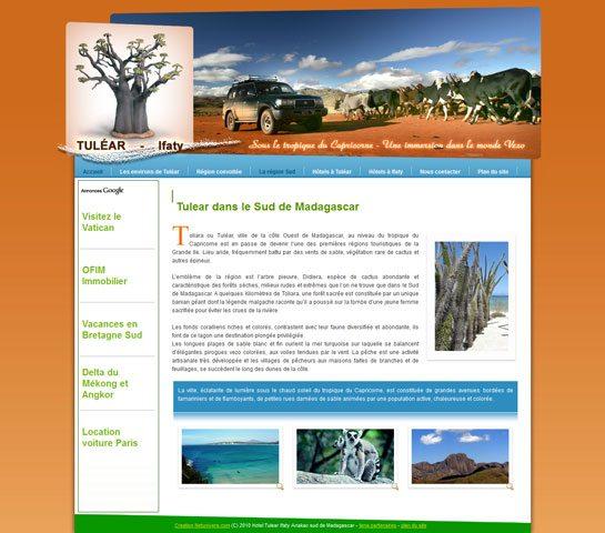Tuléar Ifaty - Hôtels et Tourisme sud de madagascar